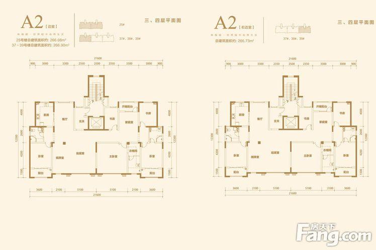 金屋秦皇半岛仁晟装饰户型图