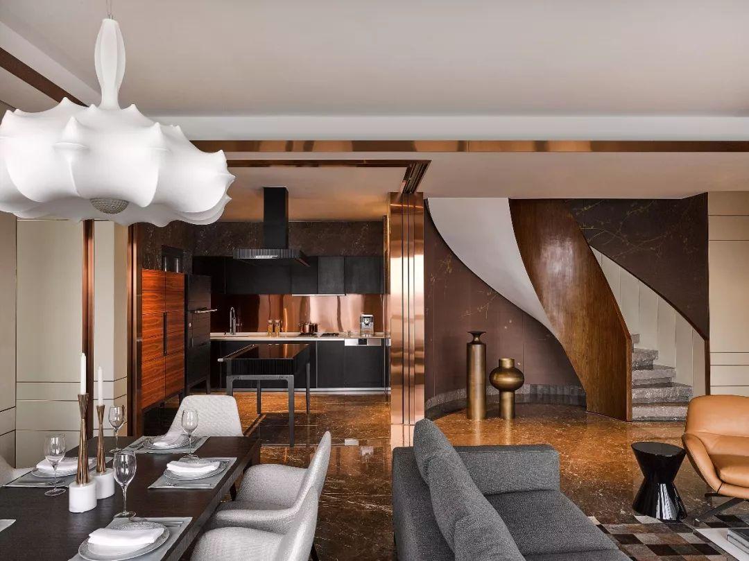 秦皇岛装修公司300平顶级艺术大平层设计,优雅与怪诞并存!